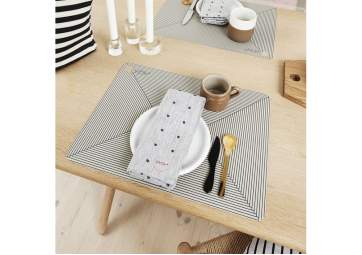 Lot de 2 Sets de table rayures - OYOY