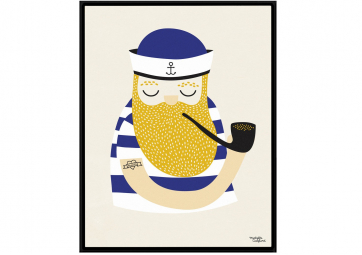 Affiche A4 - Little Sailor - MICHELLE CARLSLUND