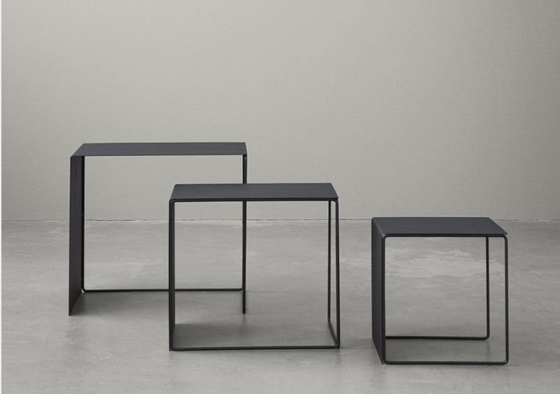 Tables gigognes - Noires - FERM LIVING