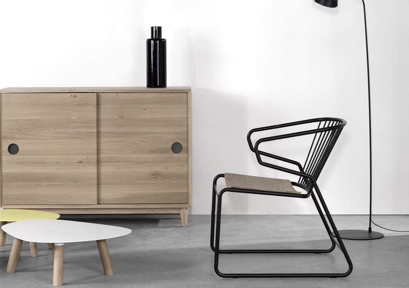 fauteuil gabbia design - ethnicraft