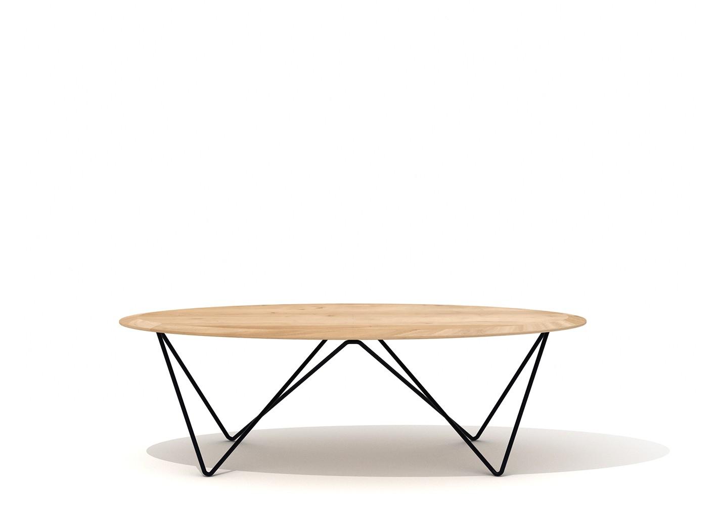 table basse orb design - ethnicraft