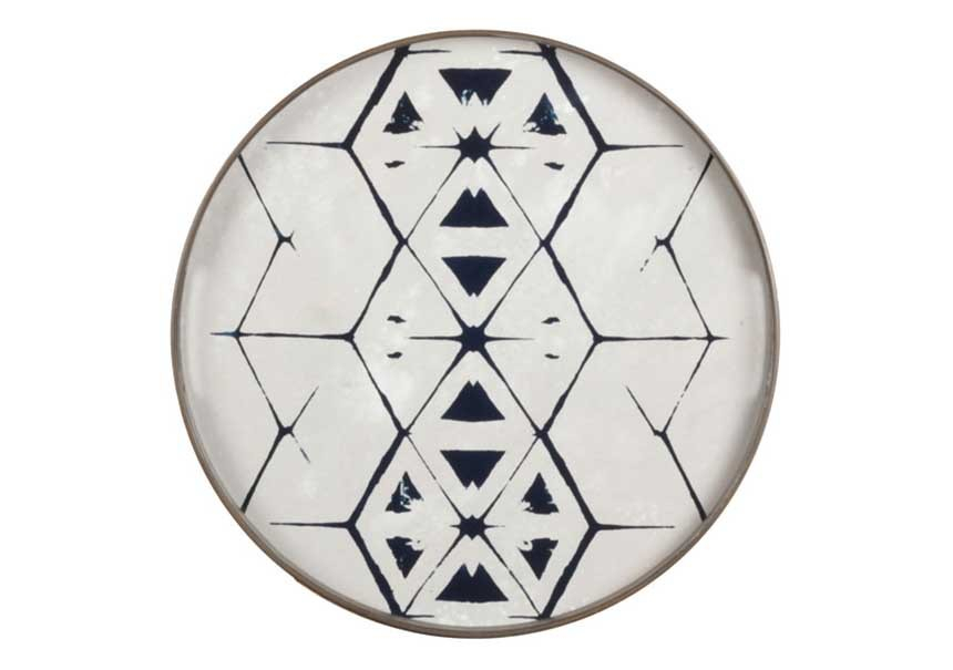 Plateau Tribal Hexagon small - ETHNICRAFT ACCESSOIRES