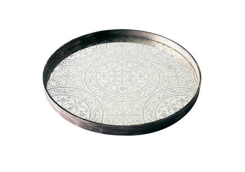 Plateau Moroccan Frost large - ETHNICRAFT ACCESSOIRES