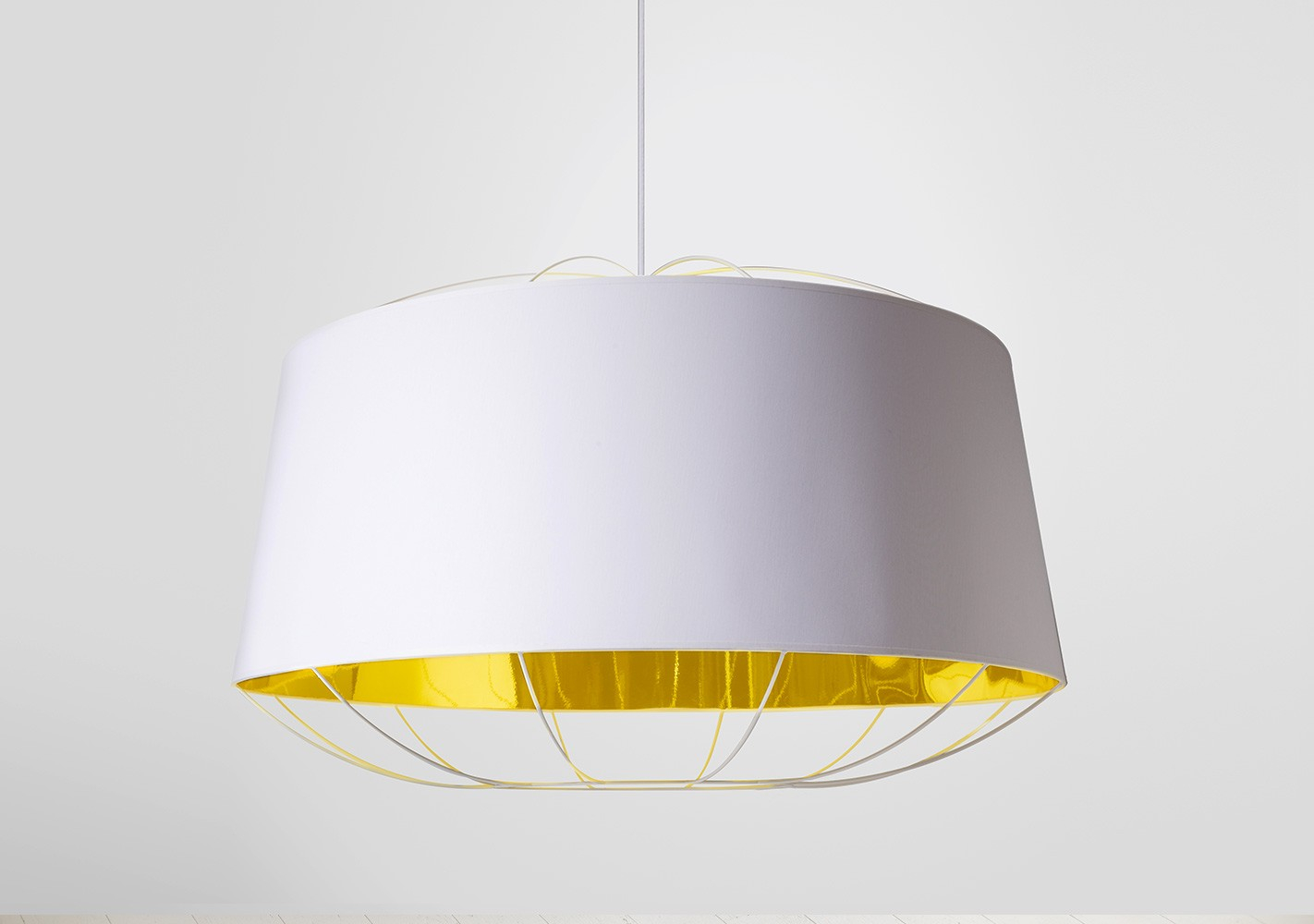 Suspension Lanterna blanche Large - PETITE FRITURE