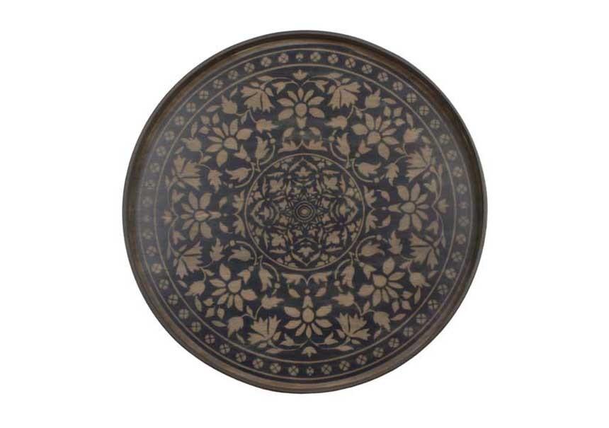 plateau black marrakech design - ethnicraft