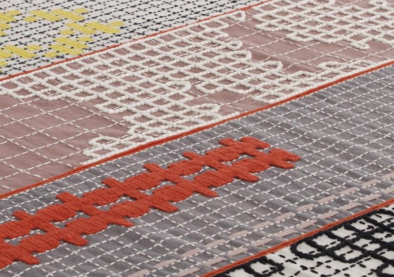 Tapis Bandas Orange - GAN
