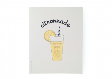 Poster Citronnade - SUPEREDITIONS