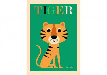 Poster Tigre - OMM DESIGN