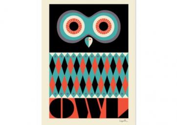 Poster Owl - OMM DESIGN
