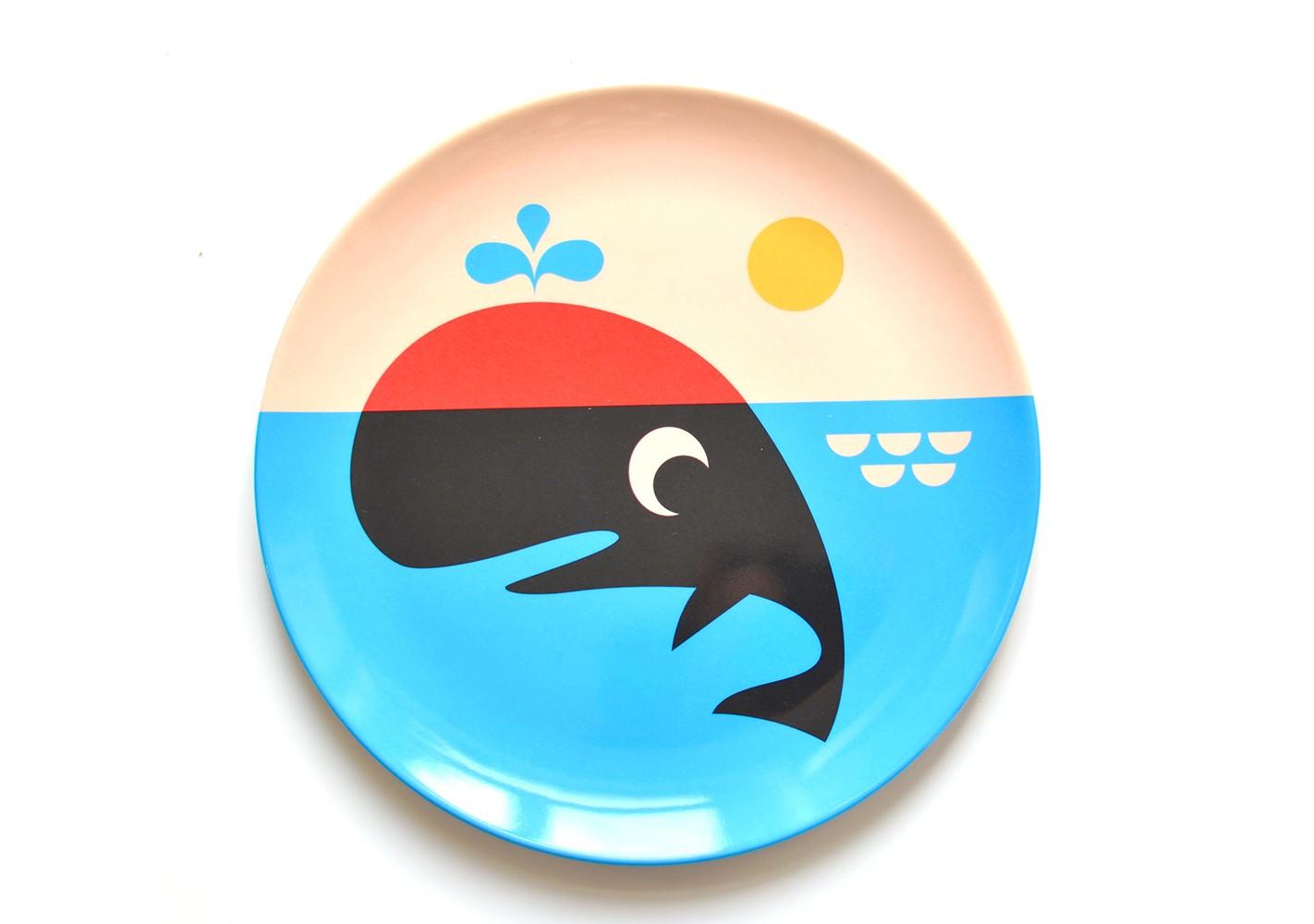 Assiette Baleine - OMM DESIGN