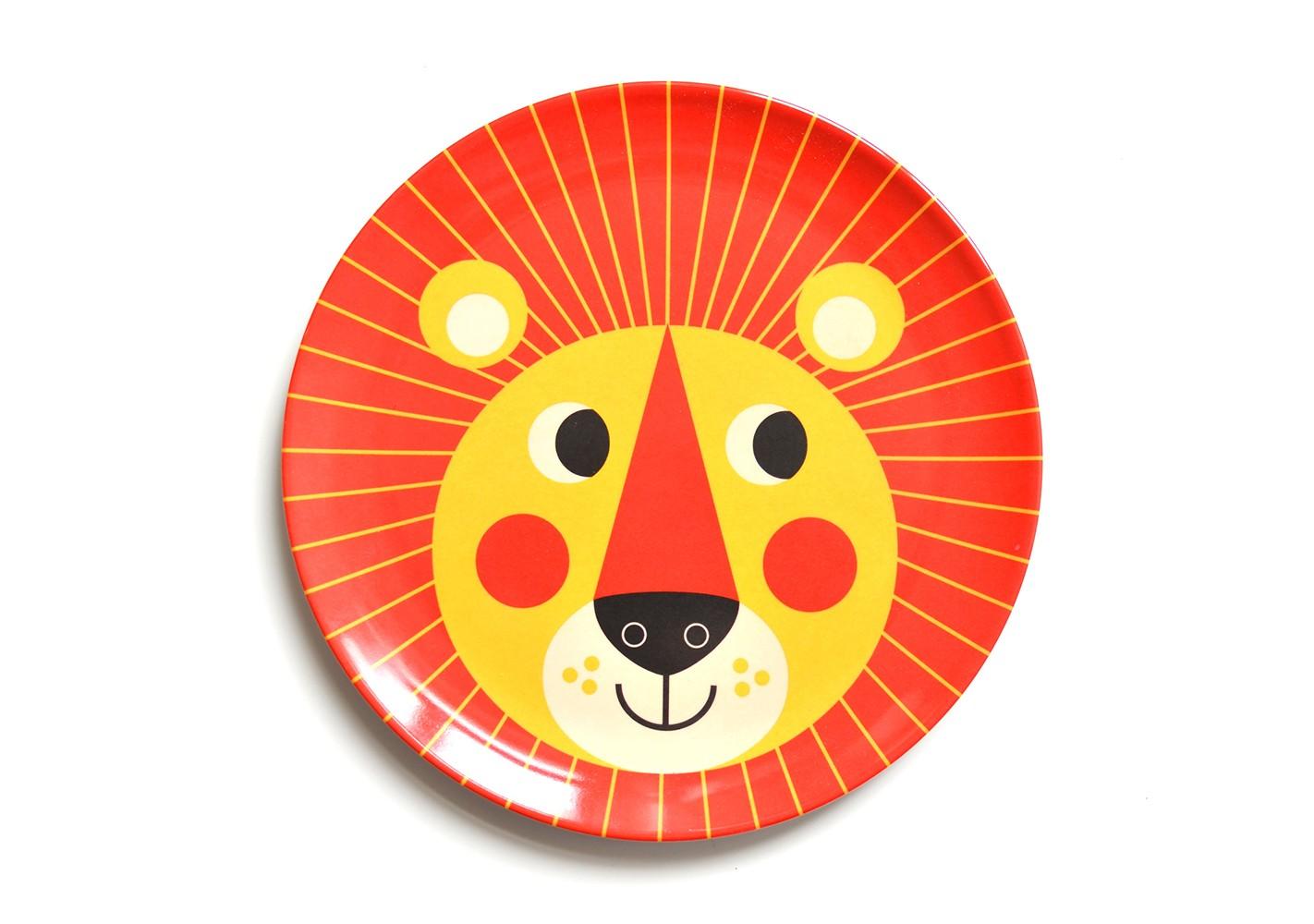 Assiette lion - OMM DESIGN