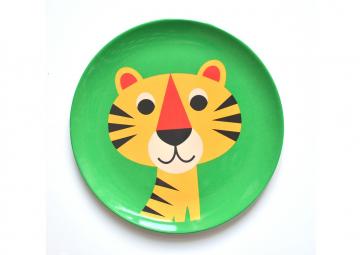 Assiette Tigre - OMM DESIGN