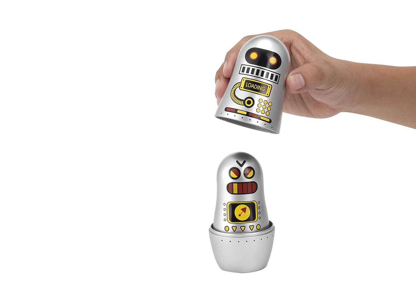 Mini poupées russes Robots - OMM DESIGN