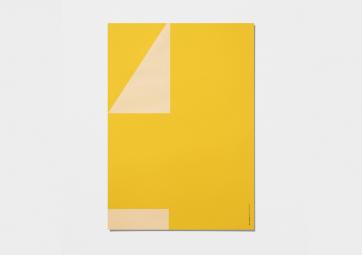 Affiche Macrography - 4 - Jaune - PLAYTYPE