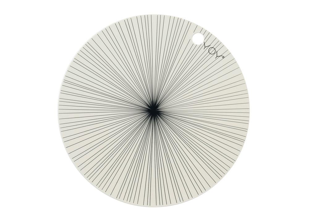 Lot De 2 Sets De Table Ronds Offwhite Oyoy Good Design Store