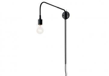 Lampe Warren noire- MENU