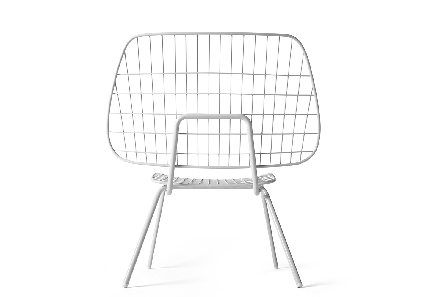 Chaise String blanche - MENU