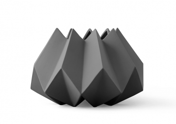 Folded Vase - Carbone - MENU