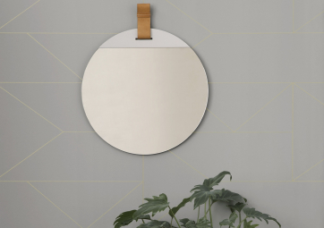 Grand Miroir Enter - FERM LIVING
