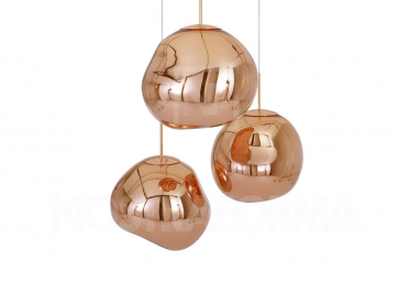Suspension MELT cuivre - TOM DIXON