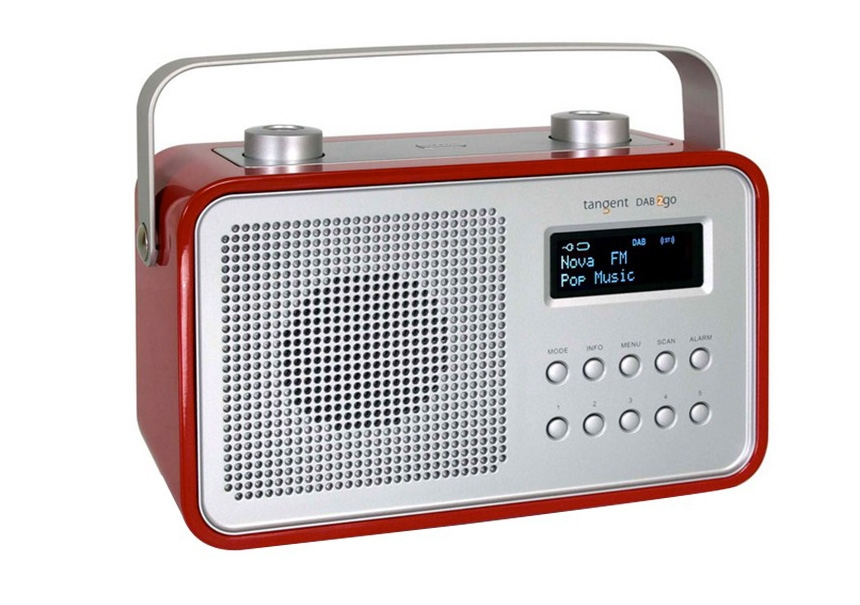 Radio-réveil blanc - TANGENT