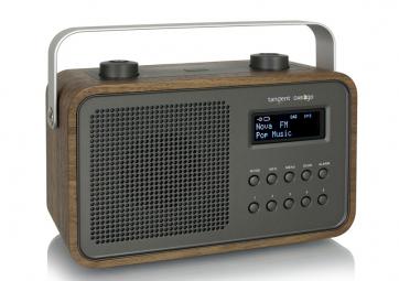 Radio-réveil noyer - TANGENT