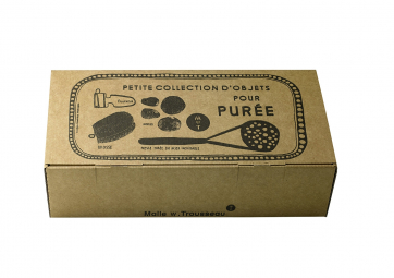 Collection d'objets pour purée - MALLE TROUSSEAU