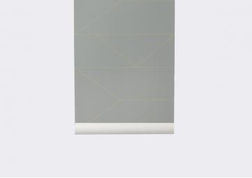 Papier peint Lines Grey - FERM LIVING