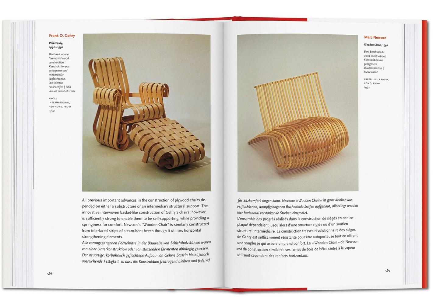 Livre 1000 Chairs - TASCHEN