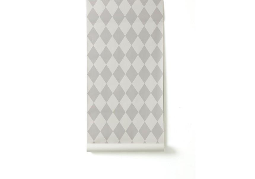 Papier Peint HARLEQUIN Gris - FERM LIVING