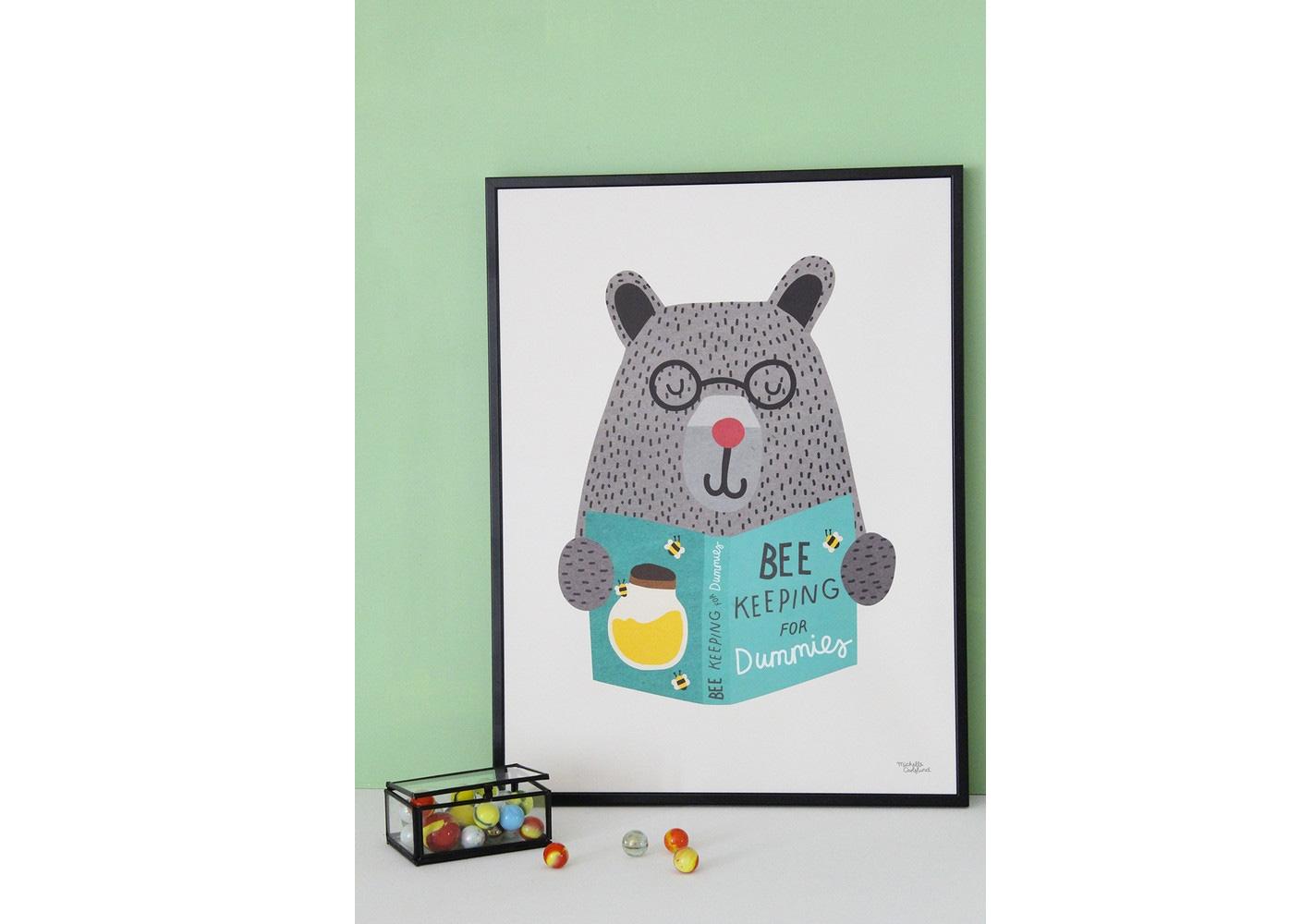 Affiche Bee Keeping - MICHELLE CARLSLUND
