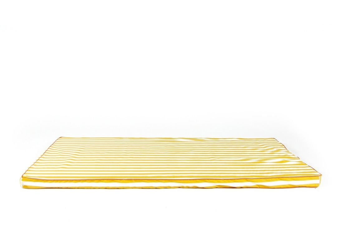 Matelas Saint Tropez - honey stripes - NOBODINOZ
