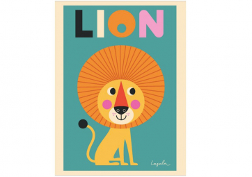 Poster Lion - OMM DESIGN