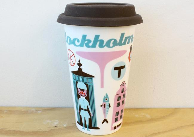 Mug de voyage - Stockholm - OMM DESIGN
