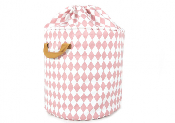 Toybag Baobab small - Pink diamonds - NOBODINOZ