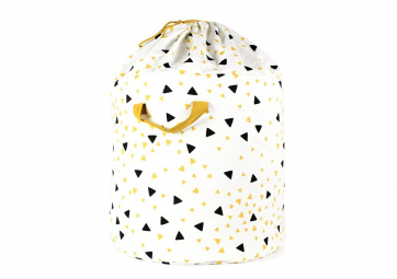 Toybag large - Black honey sparks - NOBODINOZ