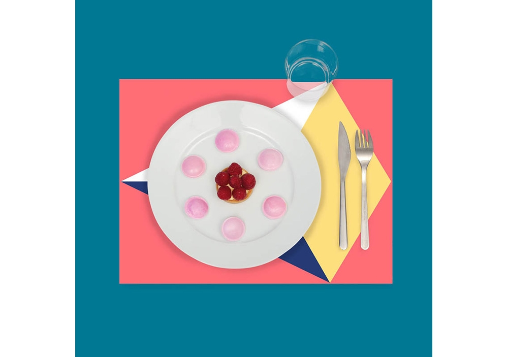 Sets de table à colorier - Grafik 02- OMY