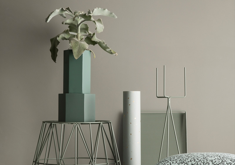 Support Plant stand Large gris - FERM LIVING