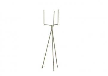 Support Plant stand Large dusty green - FERM LIVING