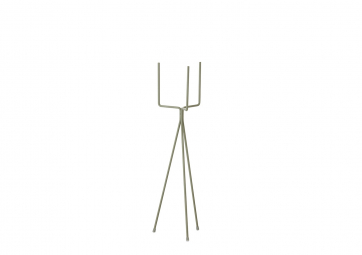 Support Plant stand small dusty green - FERM LIVING