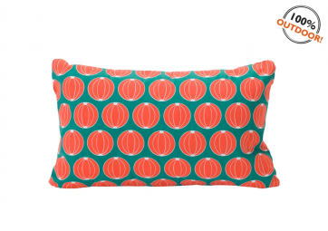 Coussin melon 68x44 turquoise - FERMOB