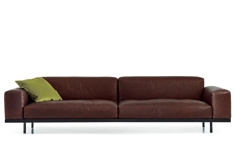 Canapé Naviglio - Cuir N - 286 cm - ARFLEX