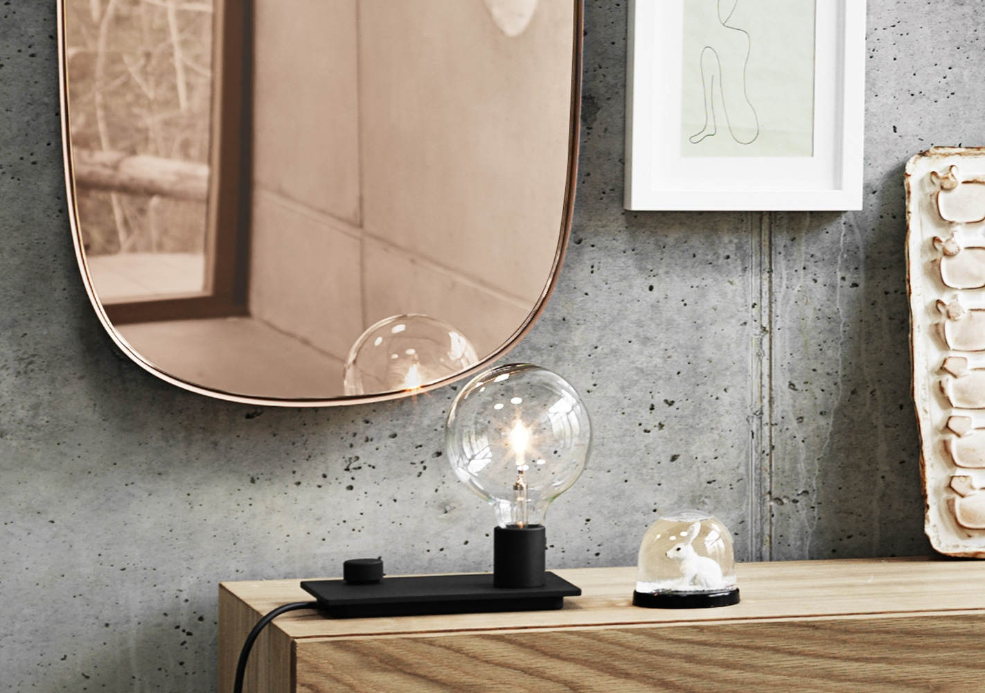 Miroir Framed - Large - MUUTO