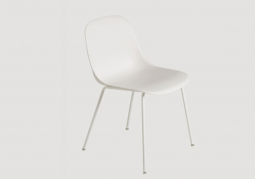 Chaise Fiber - Piètement tube - MUUTO