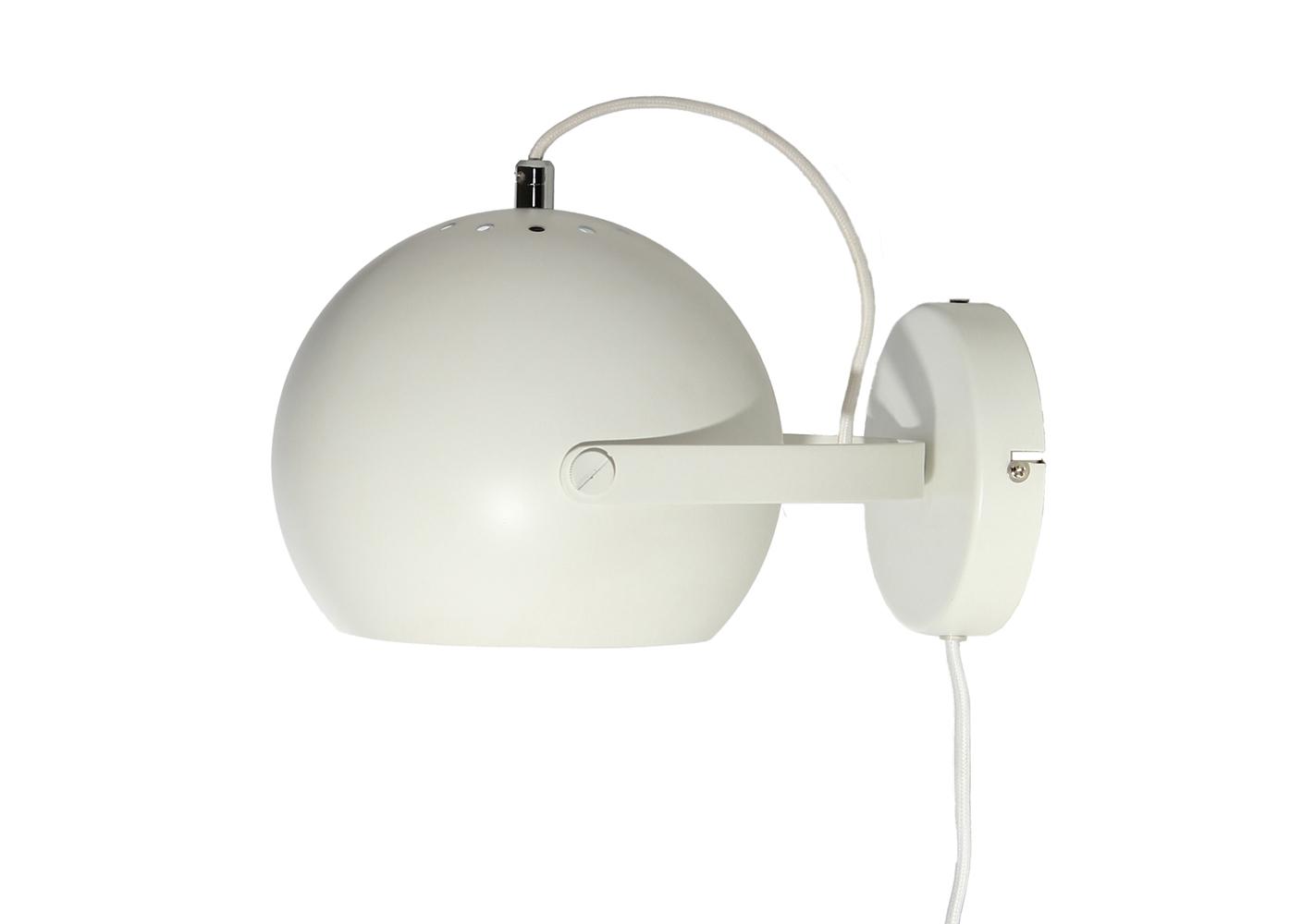 Applique Ball white - FRANDSEN
