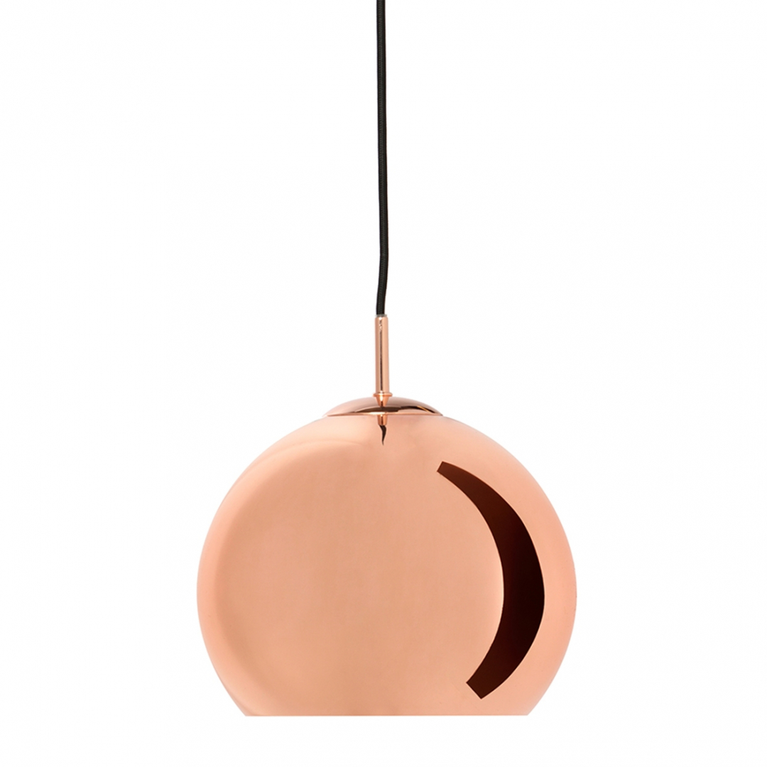 Suspension Ball cuivre 25cm - FRANDSEN