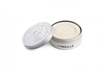 Le savon de Marseille blanc à l'huile d'olive 100g - L'ABEILLE