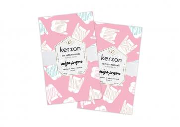 Lot de 2 Sachets parfumés Mega Propre - KERZON