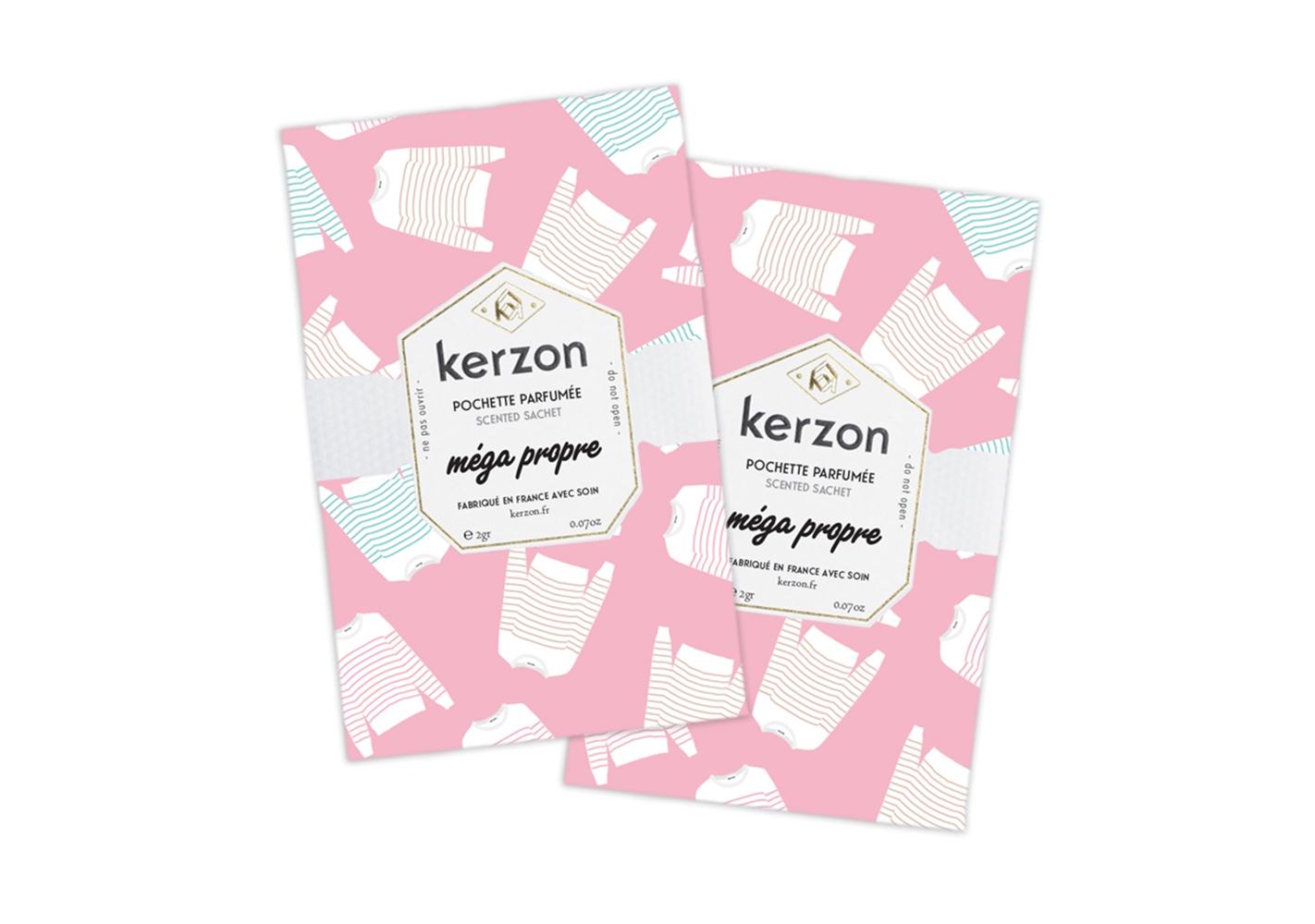 Sachet parfumé Mega Propre - KERZON