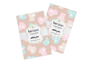 Lot de 2 Sachets parfumés Extra Pur - KERZON